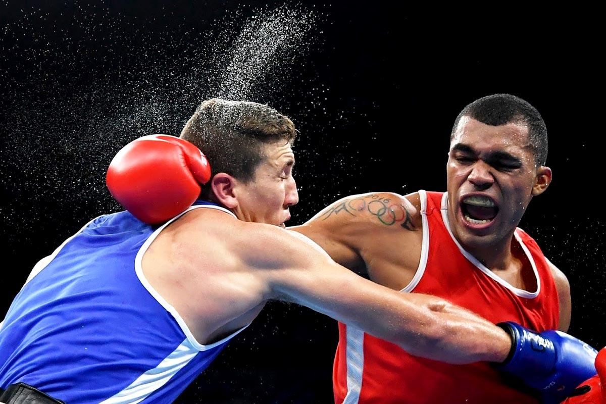 Boxeador pegador